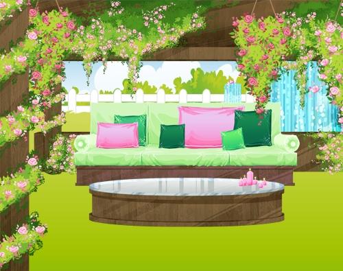 Une terrasse de rêve sur OhMyDollz ! | Jeux en ligne FEERIK GAMES