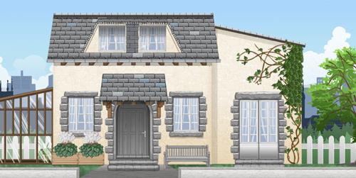 Novembre 2009 jeux en ligne feerik communaut for Exemple de couleur de facade de maison
